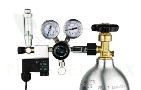 metalen bellenteller CO2 systeem
